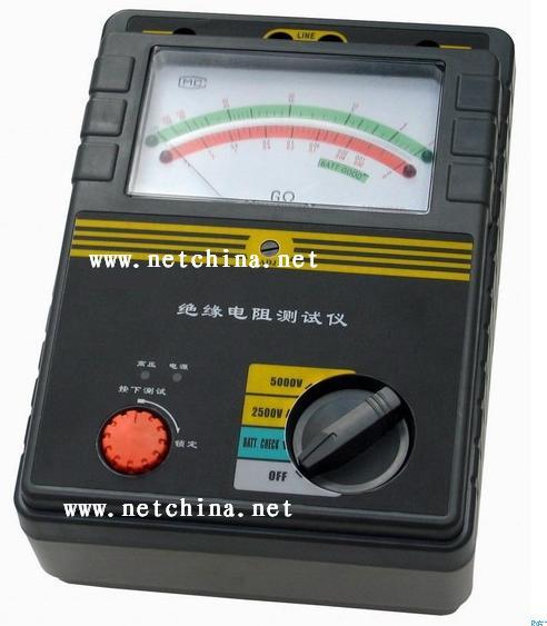 >  电工仪器仪表 >  接地电阻测量仪 >  供应wgt3-2550绝缘电阻测试仪