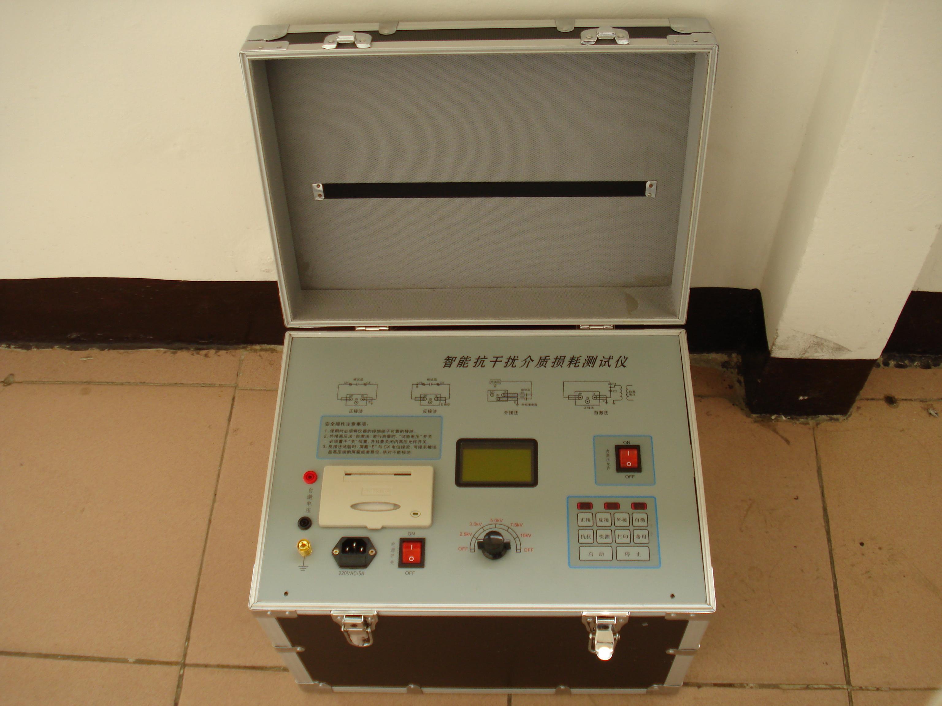 另外,本仪器针对电容式电压互感器(cvt)试验困难的特点,增设了自激法