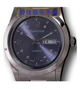 手表驗電器全鋼雙歷男表(1SG8F)