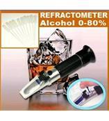 酒精度折光仪 葡萄酒检测仪 酒精浓度计 酒精检测仪 酒精测量仪 折射仪