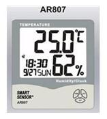 AR807数字温湿度计