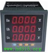 三相组合电力仪表/三相电压 型号:QMZ-SAV3库号:M340052