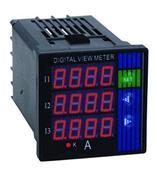 數顯三相電流表PA194I-DX4/PA194I-2X4/PA194I-AX4/PA194I-3X4/PA194I-9X4