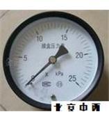 现货膜盒压力表