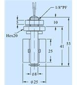 液位传感器(PVC式) 型号:R46-RF-OV21D