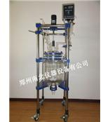 张家界双层玻璃反应釜,玻璃反应器生产厂家