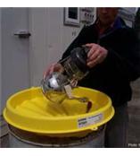 油桶配件 油桶漏斗 承接盘 油桶漏斗盖 安全漏斗 防溢溅漏斗