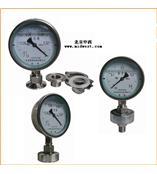 卫生型隔膜压力表 型号:HR7-Y-60/100MC/MN
