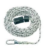 【山东戴姿】一级总代理总经销斯博瑞安(巴固)14mm粗10米20米30米40米50米长安全绳\适用于14/16毫米抓绳器\1002891/1002892/1002893/1002894/1002895