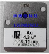 供应美国UPA镀层标?#35745;?薄膜片