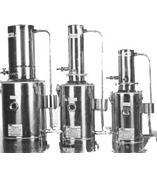不锈钢蒸馏水器 型号:JXX1-YNZD-5L/h