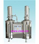 不锈钢电热重蒸馏水器 型号:SSF1-DZ10C