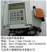 文山固定超声波流量计防爆型主机外夹式传感器