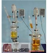 供应双层玻璃反应釜TFD-3L