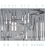 国产23cm 直 长圆直 头宽2×长2.7mm 显微刮匙