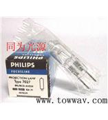 飞利浦7027 12V 50W 二次元用卤钨灯泡G6.35