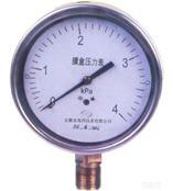 YEB不锈钢膜盒压力表