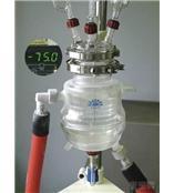 实验室小型到中试放大玻璃三夹套深低温反应釜
